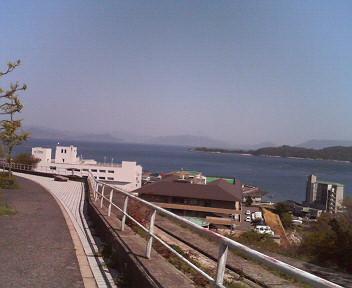 海がきれいに見えました(^-^)