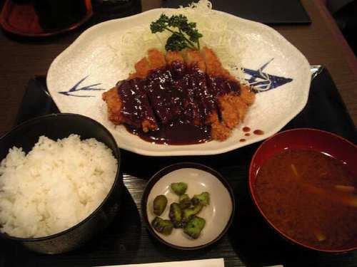 味噌カツ in名古屋